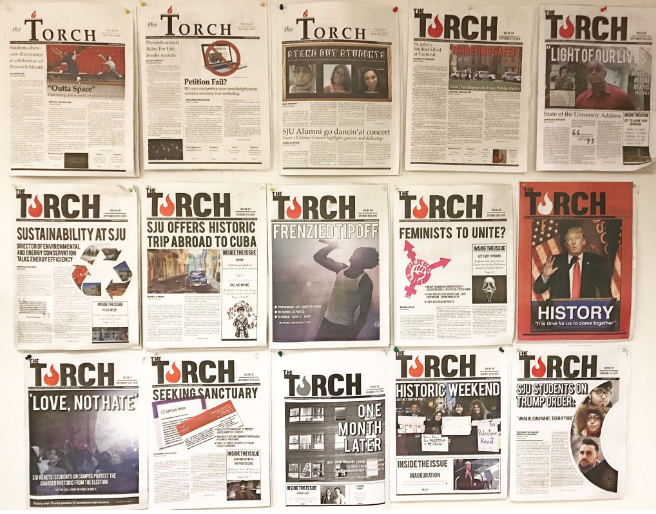 The+Torch+receives+national+recognition