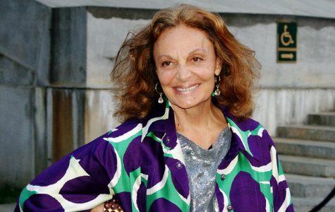 Diane von Furstenberg, legendary philanthropist and fashion designer.