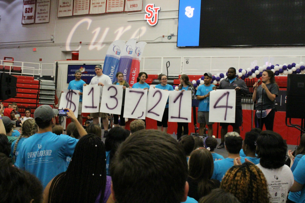 This year, SJU hit the one-million dollar mark in funds raised since it began participating in Relay for Life. Several student organizations spent the entire night in Carnesecca Arena, and the event even garnered its highest attendance on record.