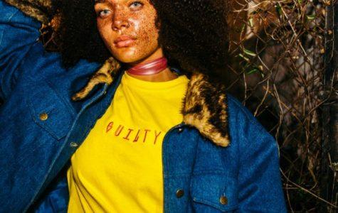 Model Kokie Childers is seen sporting GUILTY'S latest fashion line.