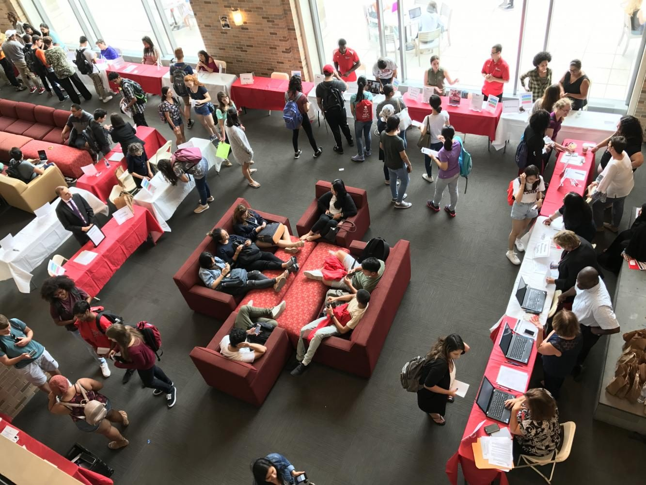 St. John's Seeks Student Workers at Employment Fair