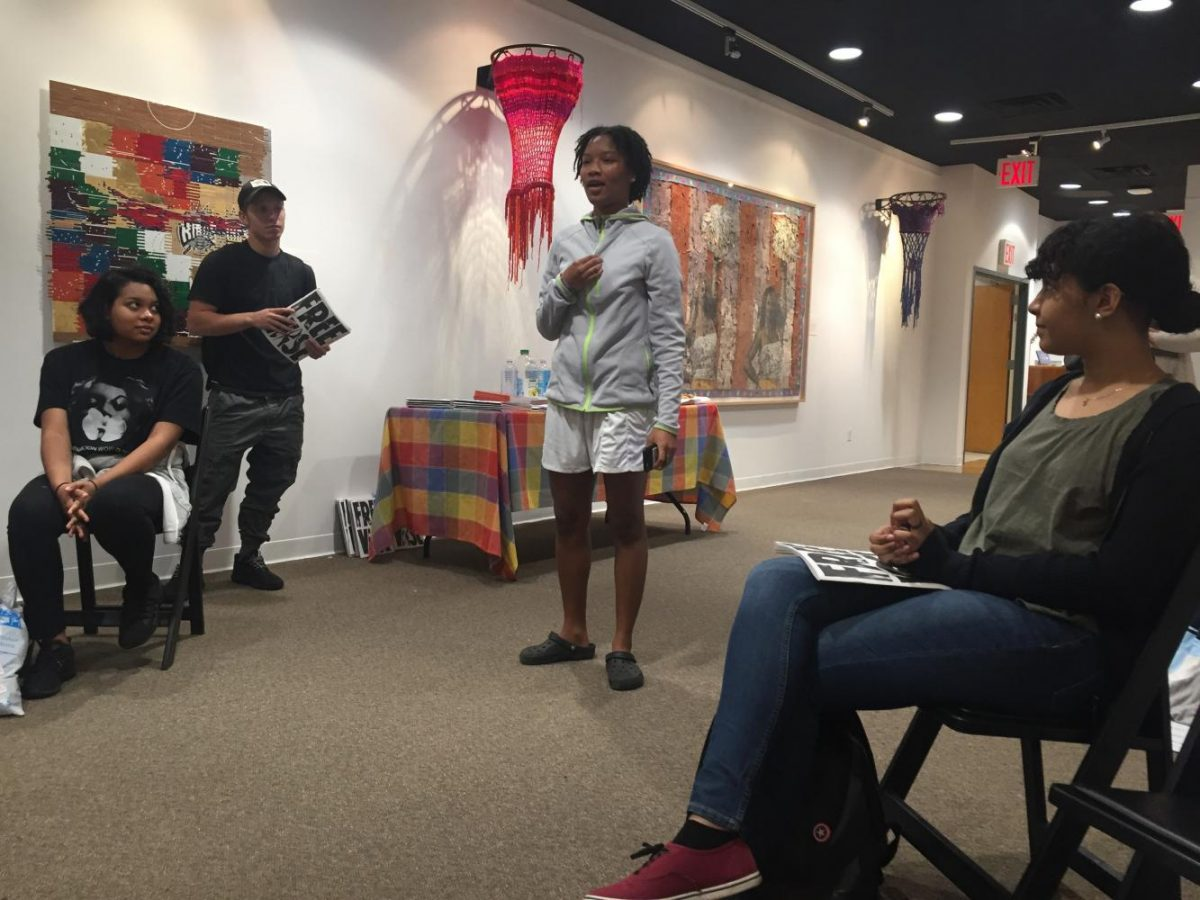 Niemah+Brown+recites+her+poetry.