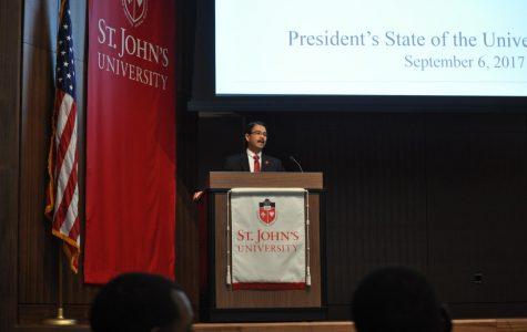 President Gempesaw Addresses SJU