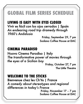 Professor Launches Global Film Series