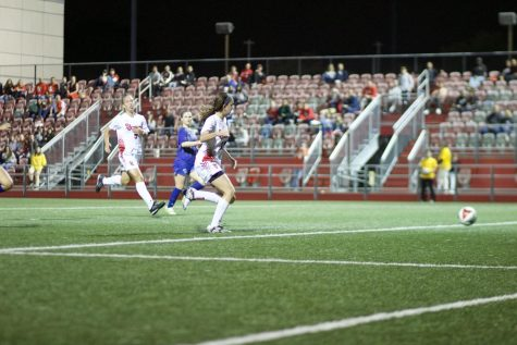 Soccer Teams Split Home Doubleheader