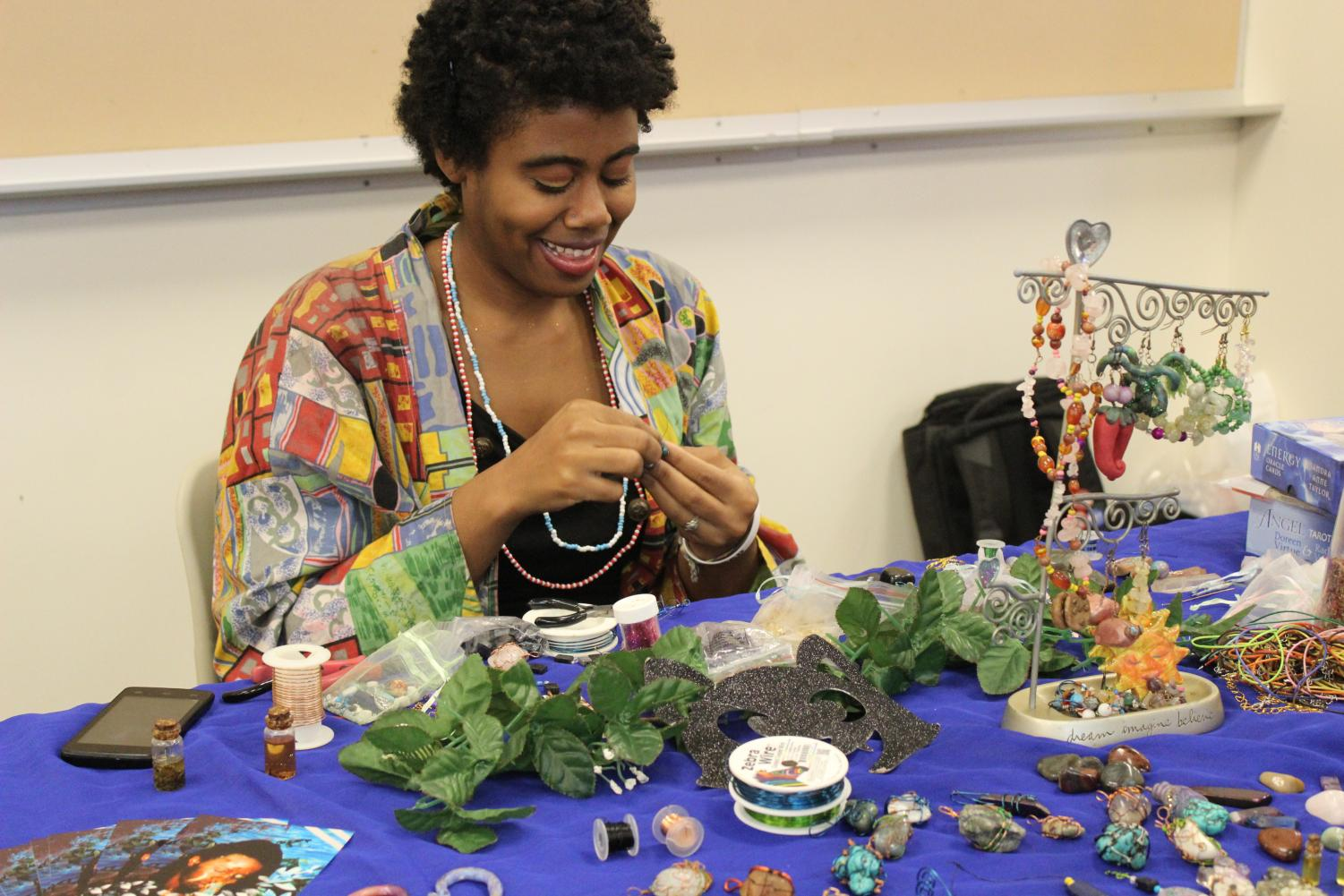 Shirts, bags, jewelry and posters were just some of the items up for sale at LASO's event.