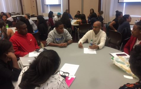 Mentors and mentees share their thoughts and goals.