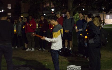 Candlelight Vigil: Simple and Thoughtful