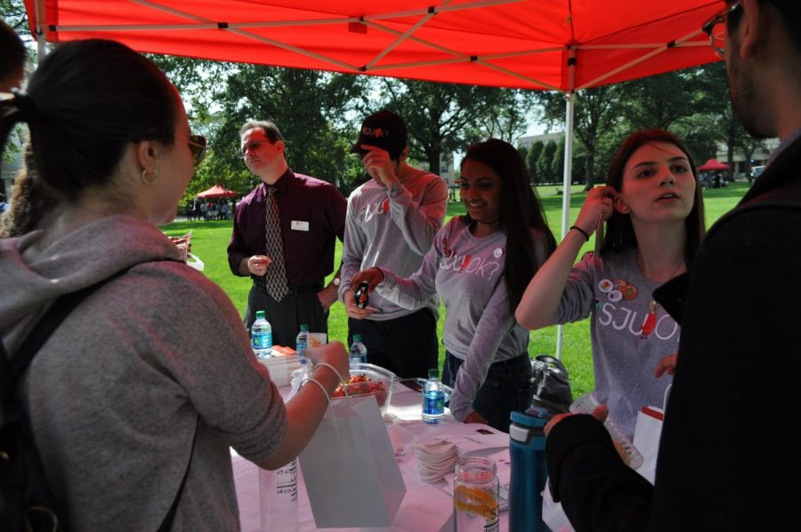 SJUOK? Suicide Prevention Walk Resonates with Students