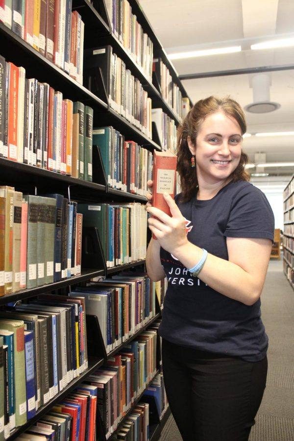 Heather+Ball+is+the+new+Student+Success+Librarian+at+St.+John%27s.