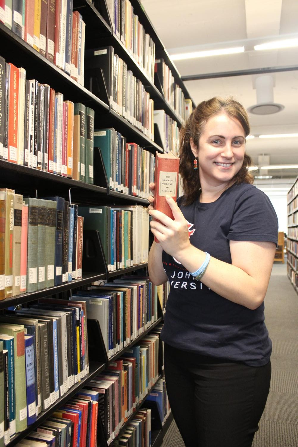 Heather Ball is the new Student Success Librarian at St. John's.