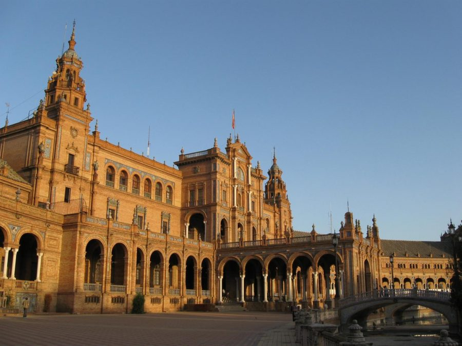 The+Plaza+de+Espana+is+seen+in+Seville%2C+Spain.+On+Jan.+3%2C+St.+John%27s+announced+that+it+is+ending+all+study+abroad+operations+in+Seville.+