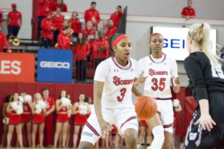 Weekend Sweep for St. John's Women's Basketball