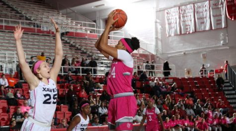 Women's Basketball Splits Weekend Matches