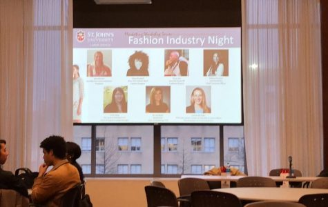 Panelists gave students the inside scoop on succeeding in the fashion world.