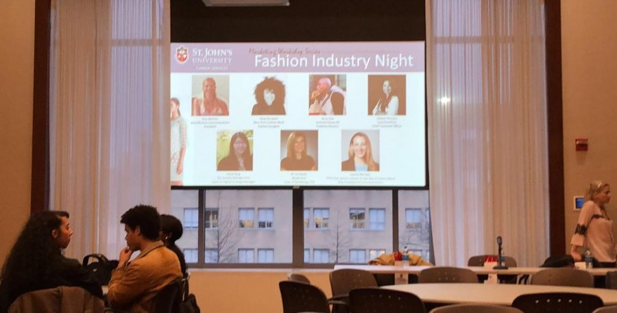 Panelists+gave+students+the+inside+scoop+on+succeeding+in+the+fashion+world.