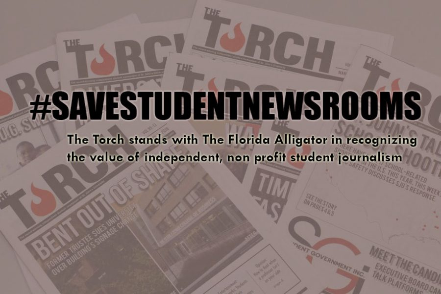 Flames of the Torch: #SaveStudentNewsrooms