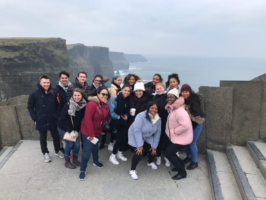 198 St. John's University students participated in the new Limerick program of DTW.
