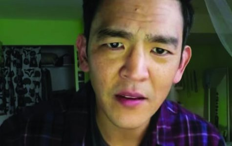 """John Cho is David Kim, a man desperately searching for his missing daughter, in """"Searching."""""""