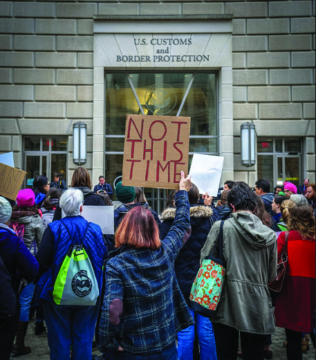 Student organizations form protests against controversial agencies.