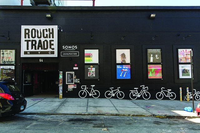 Rough Trade NYC offers records and live music on 64 N 9th St, Brooklyn, NY.