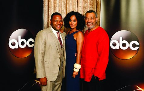 "Anthony Anderson, Tracee Ellis Ross and Laurence Fishburne star in ABC's ""Black-ish."""