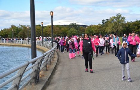 St. John's Participates in Breast Cancer Awareness Walk