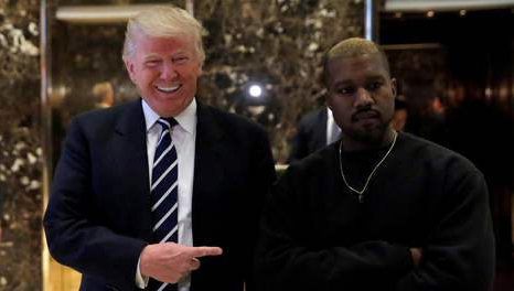 Guess Who's Coming to Lunch: Kanye West Meets Trump