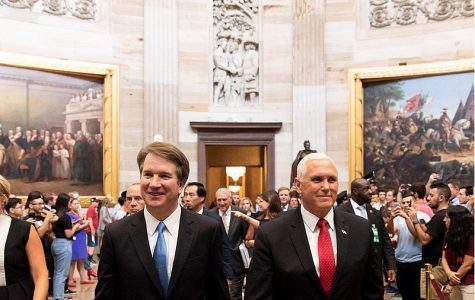 Recently nominated Brett Kavanaugh and Vice President Mike Pence together in D.C.