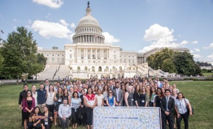 Students Attend Humanitarian Summit in D.C.