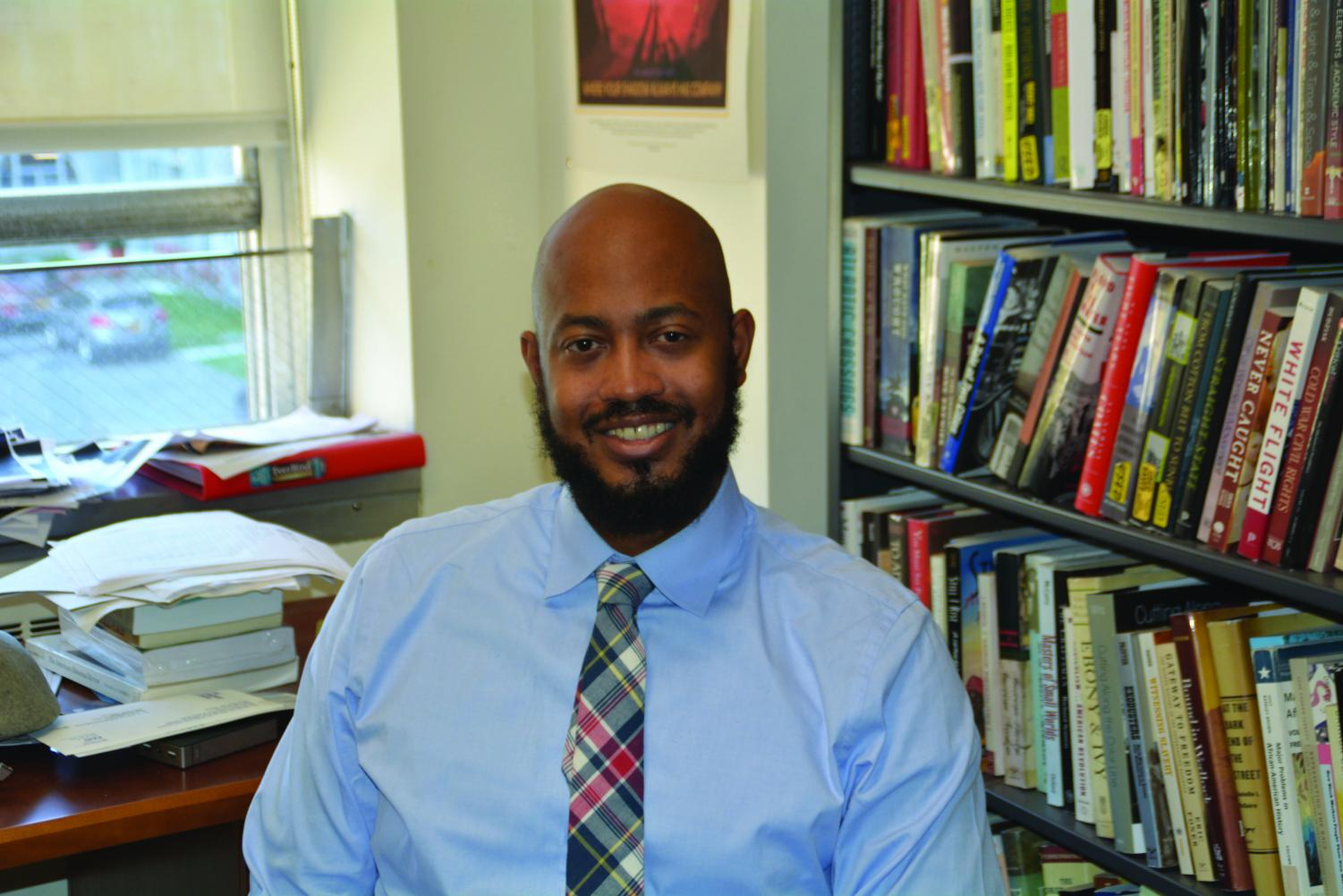Dr. Robert Bland teaches history with a focus on African American studies.