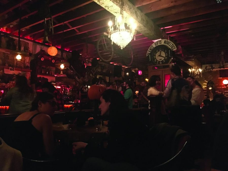 """Writing Under the Influence"" meets at ""The Keep"" bar in Ridgewood, Queens."
