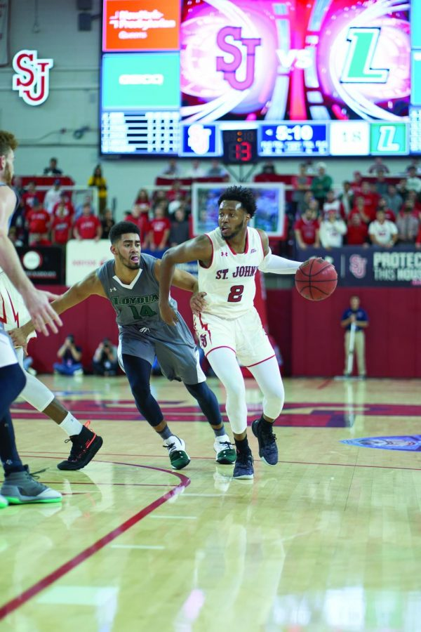 Red Storm Roll Past Loyola
