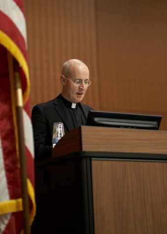 Looking Back on Rev. James Martin's Talk