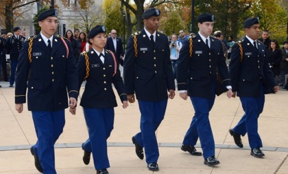 Queens ROTC Students Rank Among the Top in the Nation