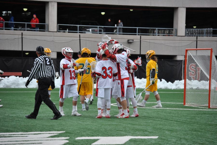 The St. John's Men's Lacrosse team is averaging over 14 goals per game this season.