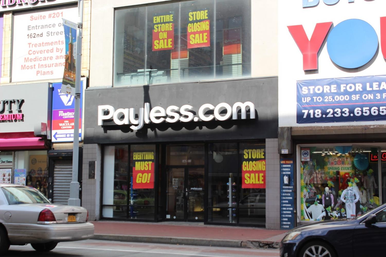 A Payless Shoesource located at 162-11 Jamaica Avenue.