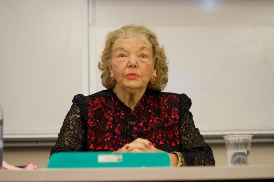 The Jewish Students Association (JSA) hosted Holocaust survivor Lena Goren to share her life altering memories with St. John's students