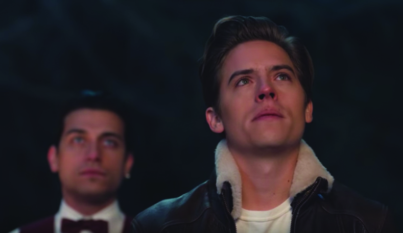 "Dylan Sprouse stars in the music video for Kygo's ""Think About You."""