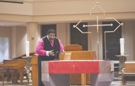 Rev. Barber Delivers Second Lecture to Students, Faculty