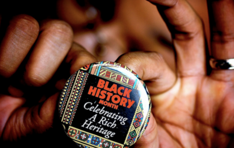 A pin celebrating African-American History month