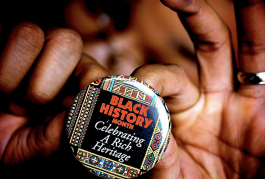 A+pin+celebrating+African-American+History+month