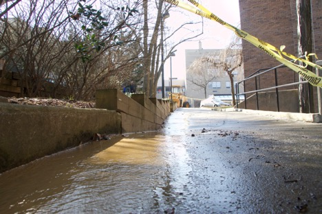 Tuesday Water Main Leak Prompts Public Safety Alert