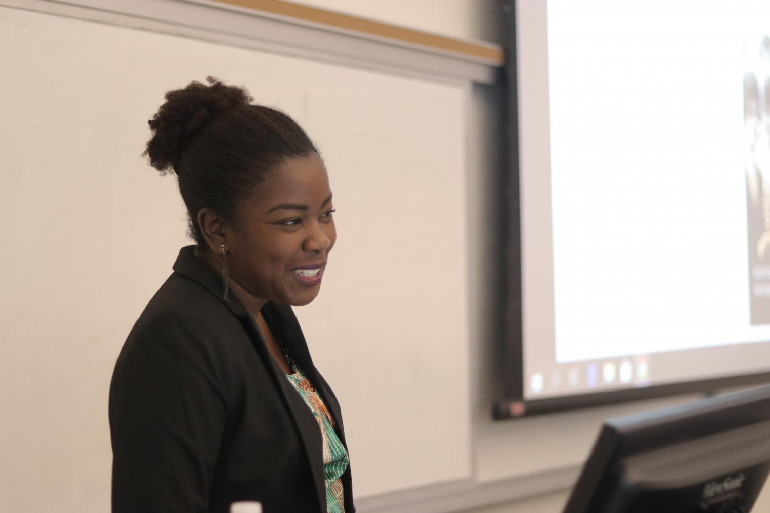 Dr. Robyn C. Spencer spoke on the long, thought provoking process writing her book.