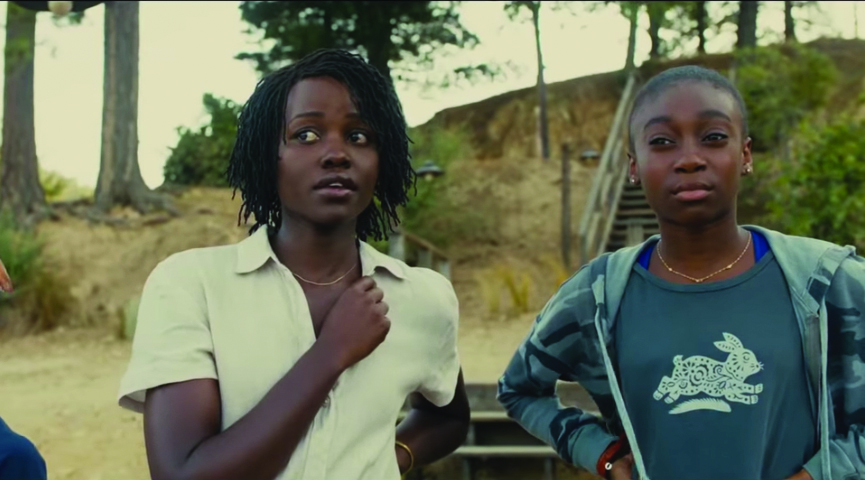 "Lupita Nyong'o and Shahadi Wright Joseph star in the thriller ""Us,"" directed by Jordan Peele."