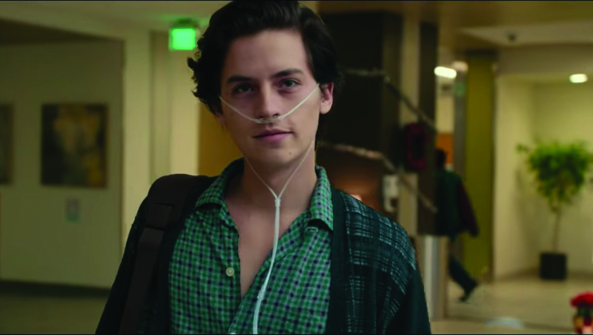 "Cole Sprouse stars in ""Five Feet Apart"" as Will, a teenager battling cystic fibrosis."