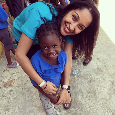 In 2014, Yendy Cave founded For the Kids of Haiti.