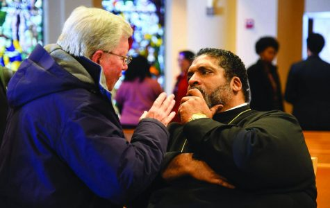 Reverend Barber delivered his third lecture in his series of four on Thursday, March 21.