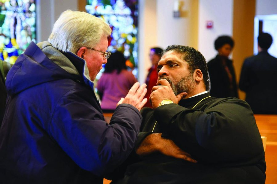 Reverend+Barber+delivered+his+third+lecture+in+his+series+of+four+on+Thursday%2C+March+21.+