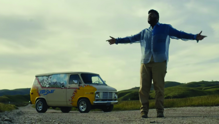"Khalid in his official music video, ""Free Spirit."""